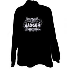 Logo Fleece Jacke